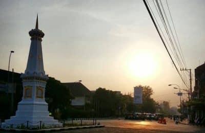 Sunset Tugu Jogja