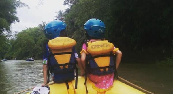 Tips Rafting Sungai Elo